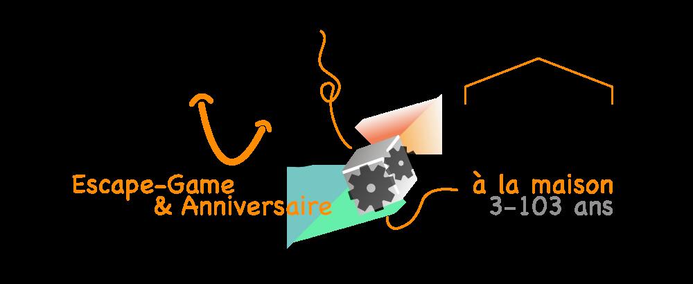 AMUZ BOX Escape Game à la maison et chasses aux trésors pour anniversaire enfant ou soirée adultes