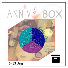 annivbox chasse au trésor magique harry potter anniversaire enfant cdanslaboxlocation boite toute prête