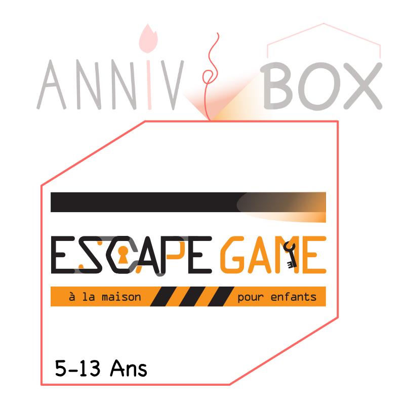 escape game a la maison pour anniversaire d'enfant