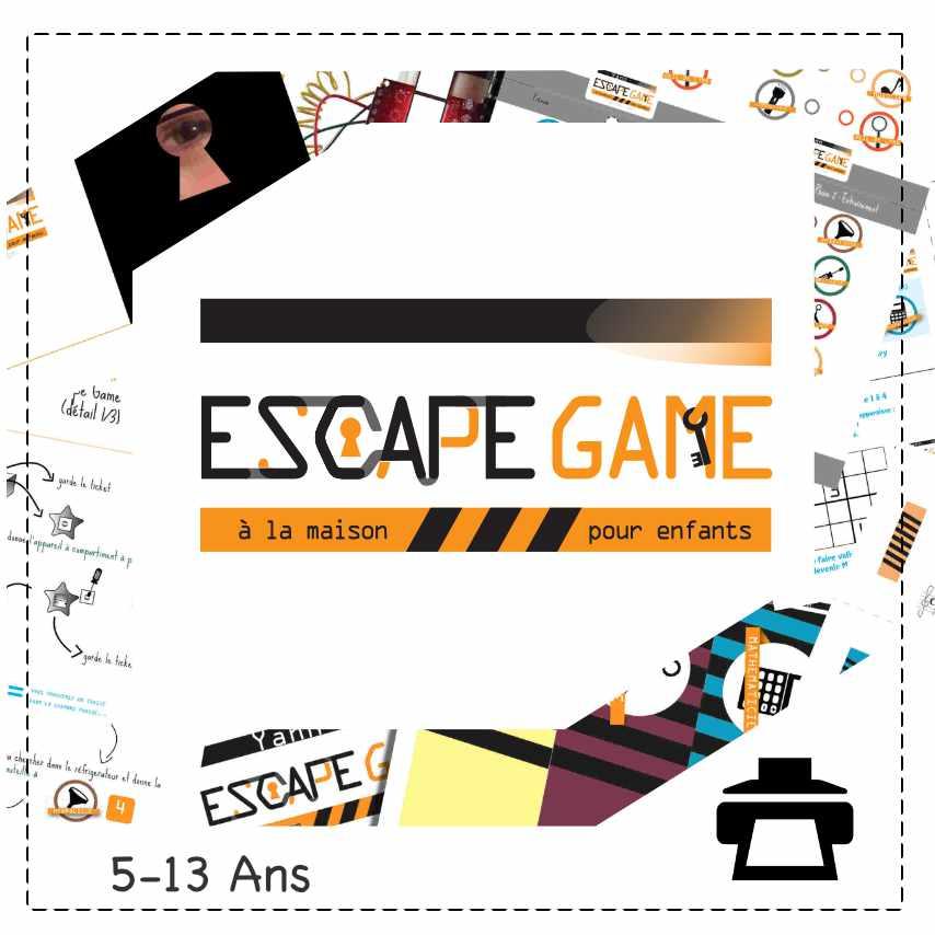 Un Escape-game spécialement conçu pour un anniversaire d'enfant à la maison. Recevez un PDF personnalisé et animer une après-midi inoubliable.